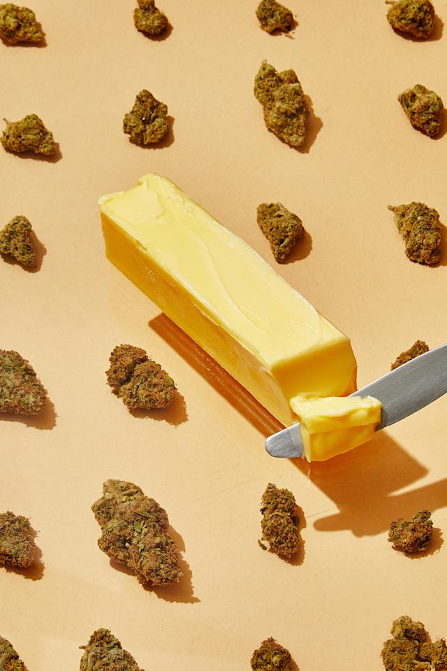 "You don't have to be a trained chef or cannabis connoisseur to make legit weed butter. You just need a little patience and a kitchen scale. <strong>Mennlay Golokeh Aggrey</strong> <a href=""https://bonappetit.com/story/a-beginners-guide-to-making-weed-butter"">shows us the ropes</a>. <a href=""https://www.bonappetit.com/story/a-beginners-guide-to-making-weed-butter?mbid=synd_yahoo_rss"">See article.</a>"