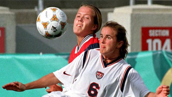Michelle Akers. (AFP/Doug Collier)