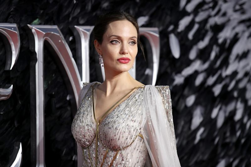 Angelina Jolie is sharing parenting advice during the coronavirus pandemic. (Photo by Mike Marsland/WireImage)