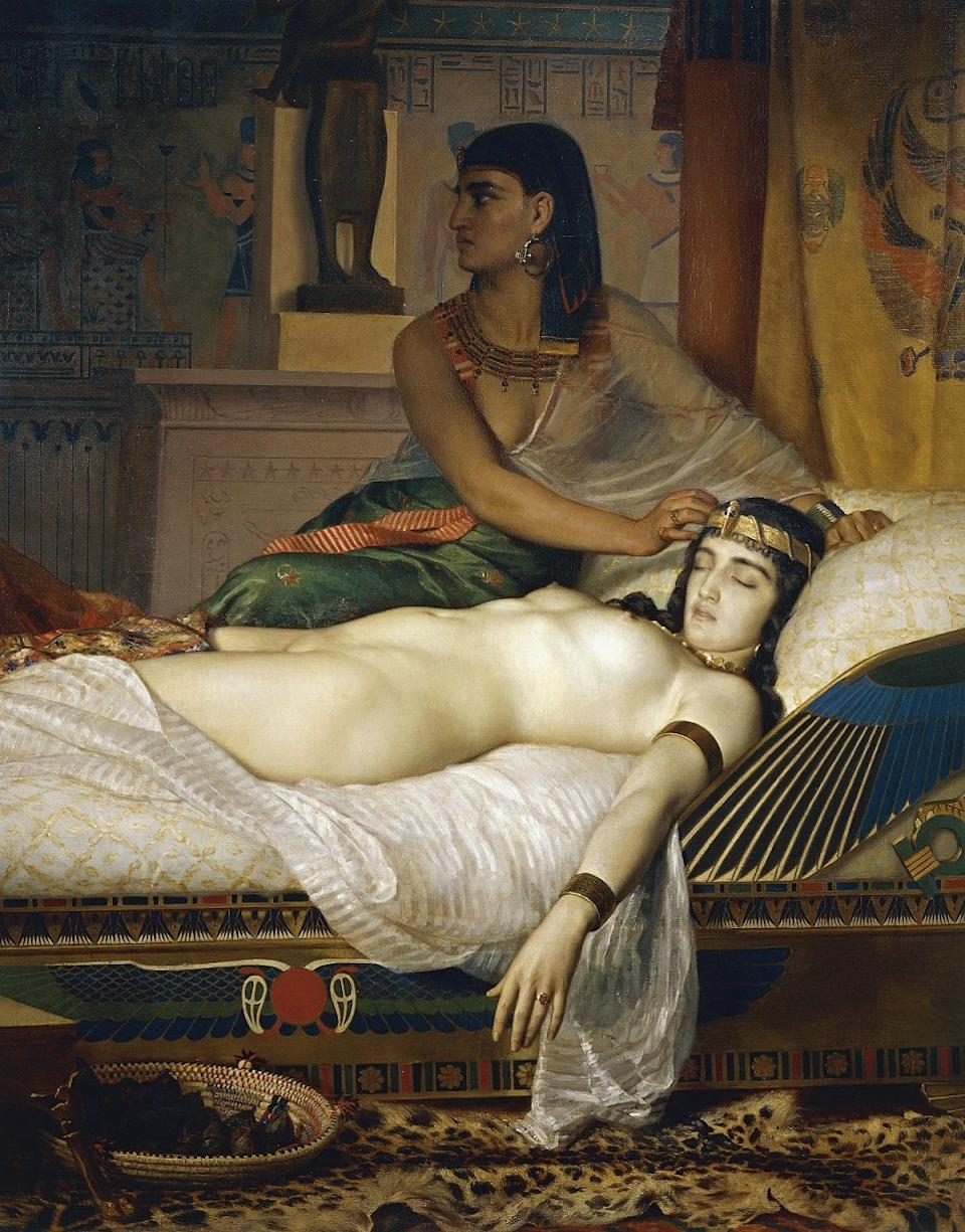 The Death of Cleopatra by Jean Andre Rixens (1874) (picture: Getty)Getty