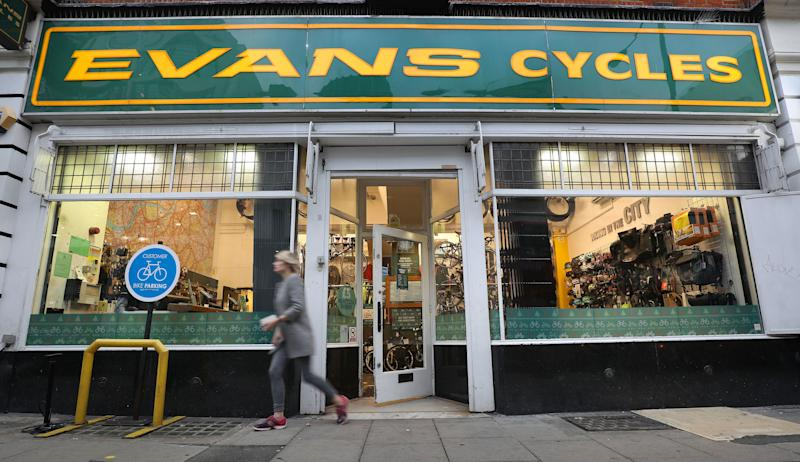 Hundreds of jobs threatened at Evans Cycles despite Ashley rescue
