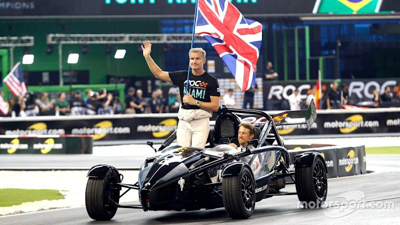 David Coulthard and Jenson Button Team Great Britain