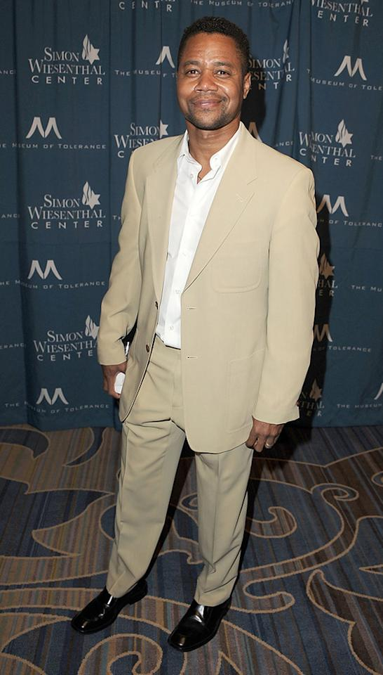 "<a href=""http://movies.yahoo.com/movie/contributor/1800018797"">Cuba Gooding Jr.</a> attends the 2011 Wiesental Center National Tribute Dinner In Honor Of Tom Cruise in Los Angeles on May 5, 2011."