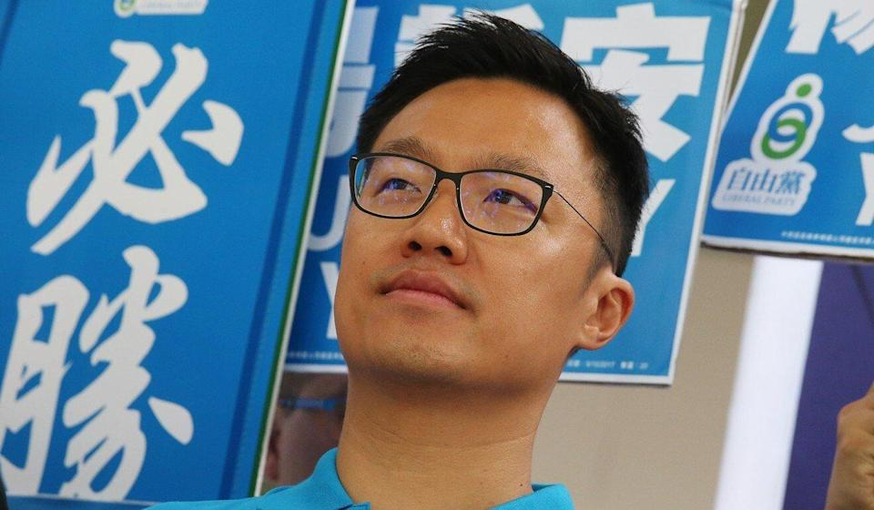 Jeremy Young is considered the Liberal Party's best prospect. Photo: K. Y. Cheng