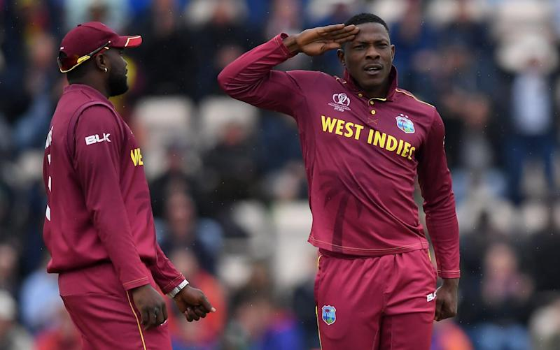 West Indies have led the charge with more short balls than any other team at the World Cup - Getty Images Europe