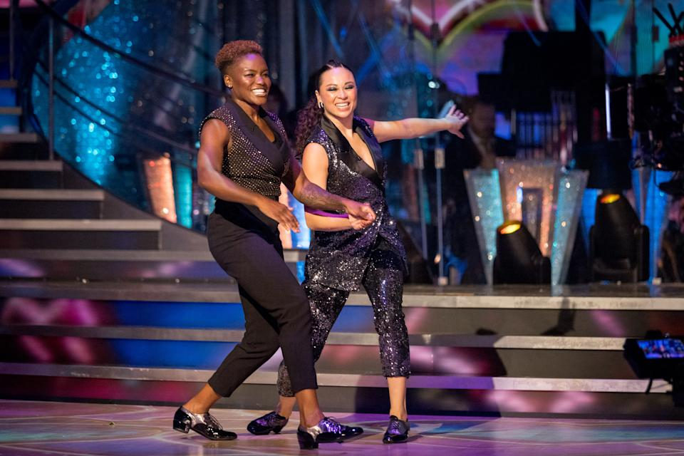 Nicola Adams has been partnered with Katya Jones for 'Strictly Come Dancing'. (BBC)