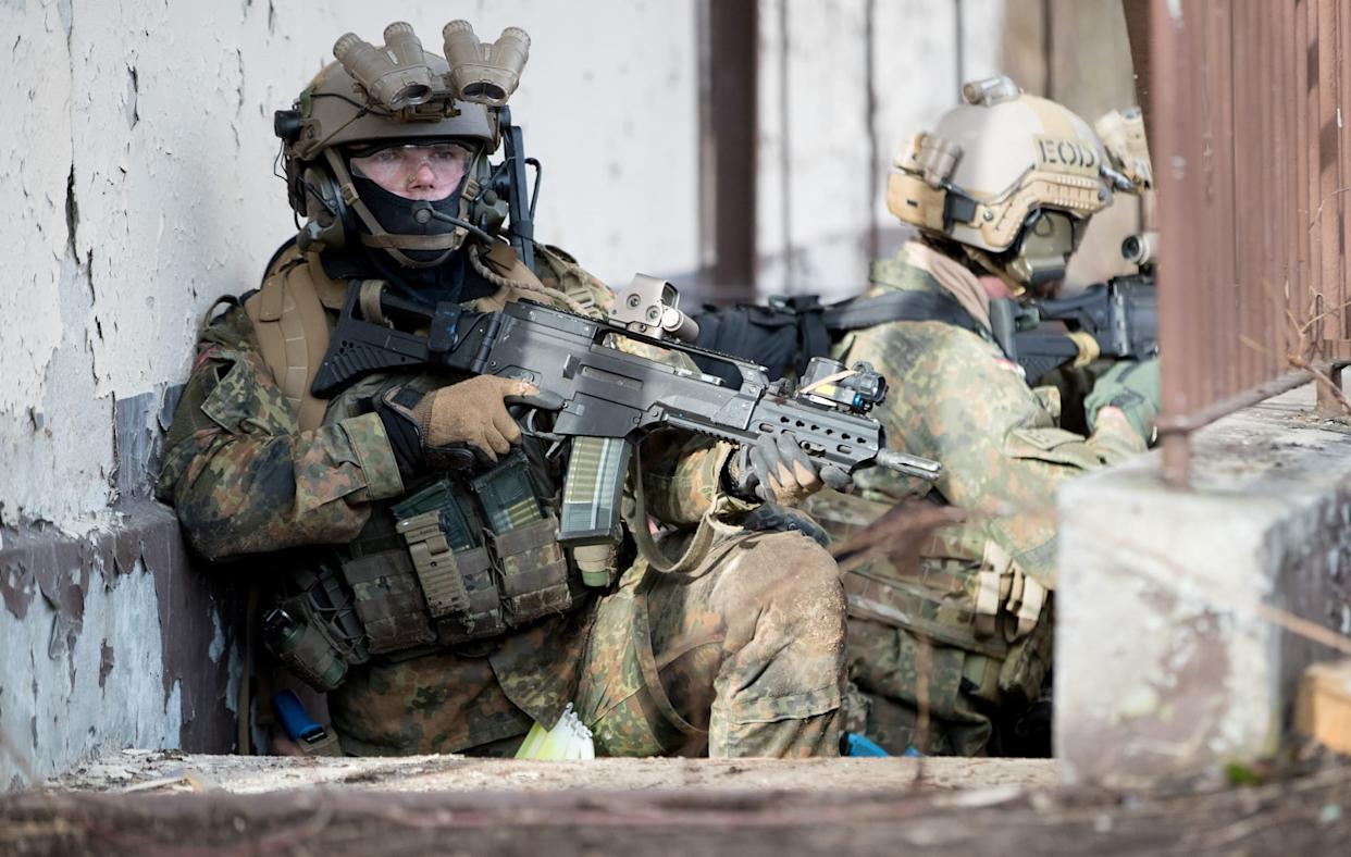 Special Commando Forces of the German Military