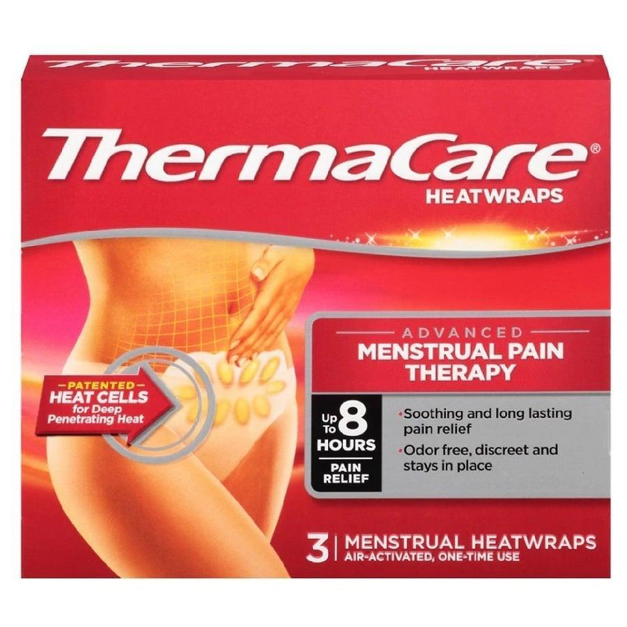 <p>The budget-friendly <span>ThermaCare AdvancedMenstrual Pain Therapy Heatwraps</span> ($7 for three patches) stay warm for up to eight hours, but you should know they can take up to at least 30 minutes to reach their optimal cramp-soothing temperature.</p>