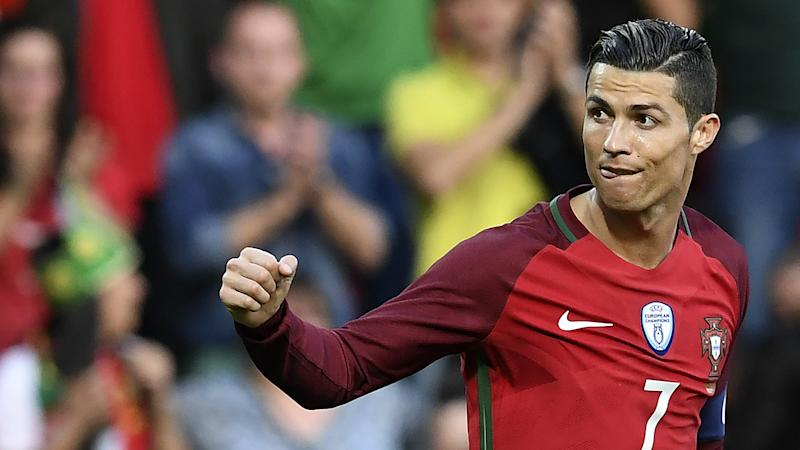 Cristiano Ronaldo Portugal Sweden Friendly 28032017