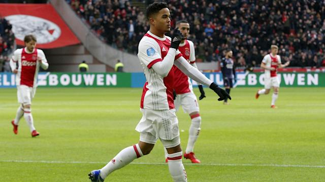 Former Barcelona striker Patrick Kluivert has given his in-demand son Justin some advice amid talk of a transfer from Ajax this year.
