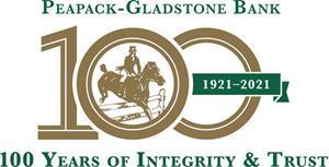 Peapack-Gladstone Bank, 100 Years of Integrity & Trust