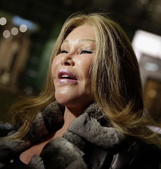 Jocelyn Wildenstein in New York City, 2017 (Photo: Getty Images)