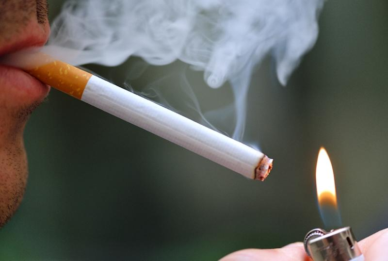 Tobacco claims nearly seven million lives yearly from cancer and other lung diseases, accounting for about one-in-10 deaths worldwide, and a million in China alone (AFP Photo/ERIC FEFERBERG)