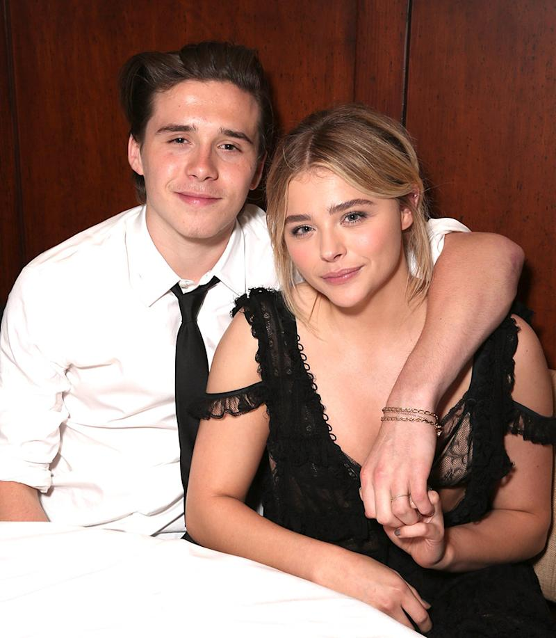 Chloe Grace Moretz And Brooklyn Beckham Make Their