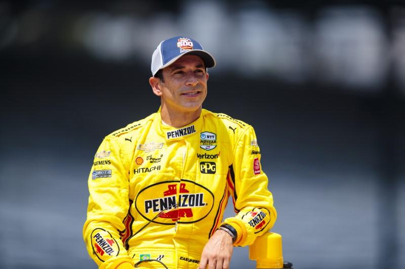 Castroneves takes another crack at elite Indy 500 club