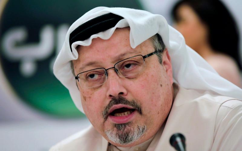 The recordings allegedly capture Mr Khashoggi being interrogated in Arabic - AP