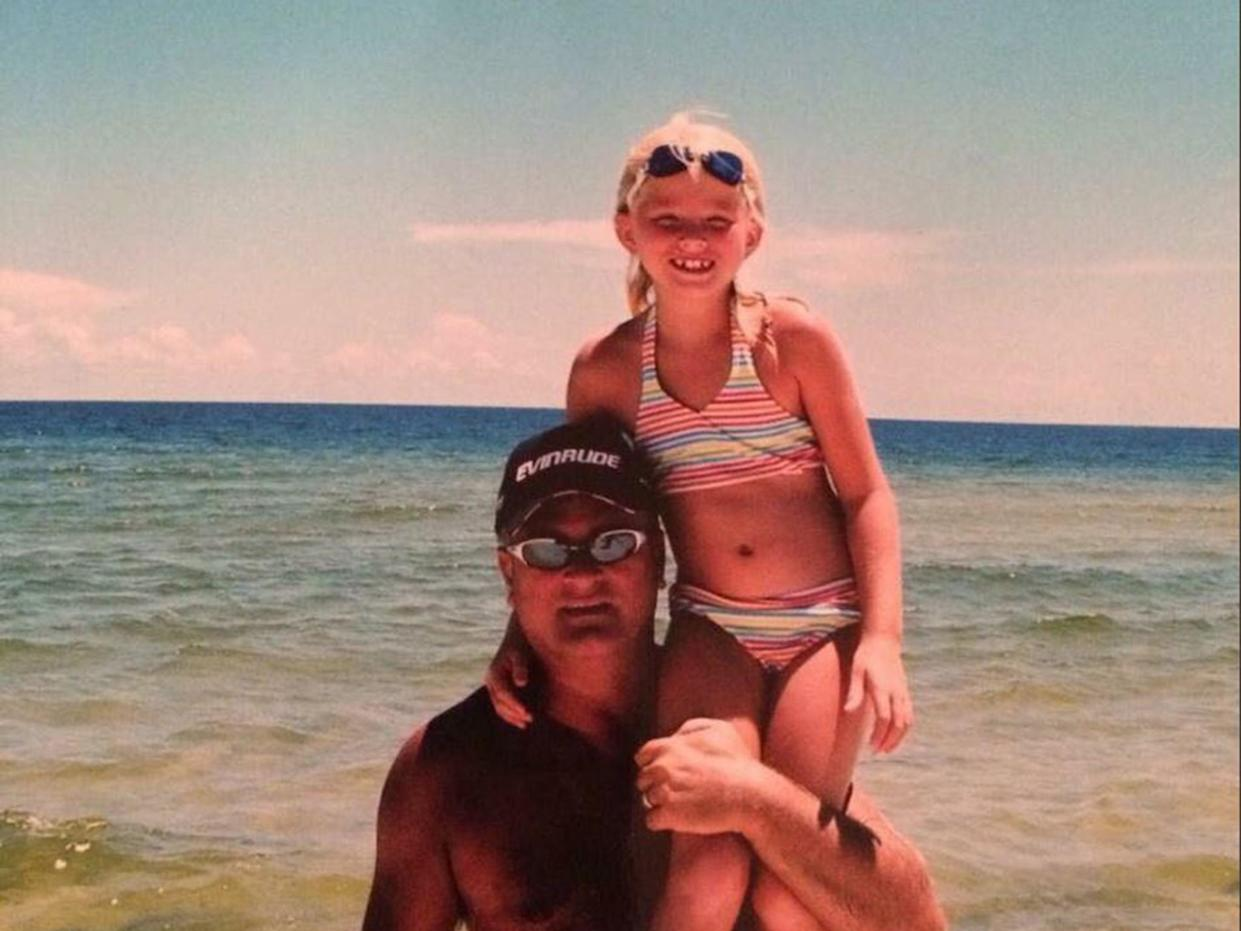 Bailey Sellers was just 16 when her father Michael died: Bailey Sellers/Twitter