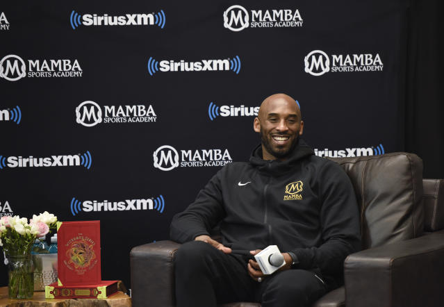 "Out of respect, Kobe Bryant's nickname ""Mamba"" will be removed from the name of the Mamba Sports Academy. (Photo by Vivien Killilea/Getty Images for SiriusXM)"
