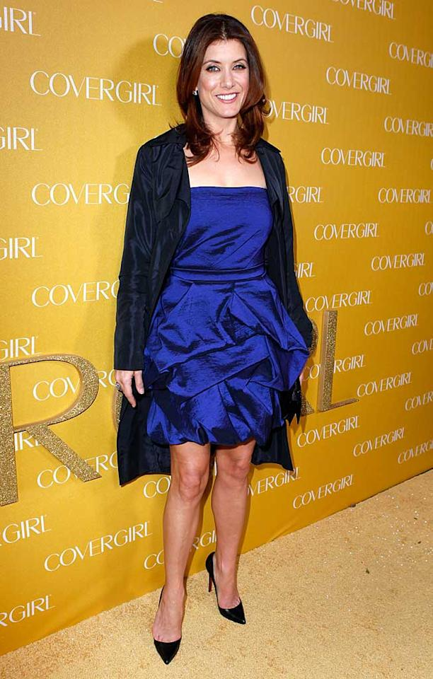 """Also feeling blue was """"Private Practice"""" star Kate Walsh, who opted to keep things simple by sticking with the same cute dress she wore to the People's Choice Awards. Jeff Vespa/<a href=""""http://www.gettyimages.com/"""" target=""""new"""">GettyImages.com</a> - January 5, 2011"""