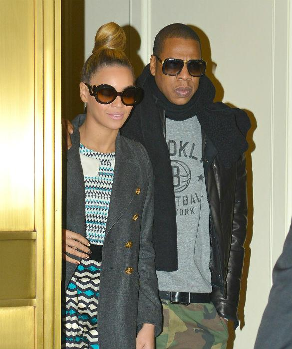 Beyonce And Jay-Z 'Visit Kim Kardashian And Baby North West At Home'