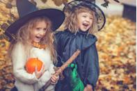 """<p>While there are countless <a href=""""https://www.thepioneerwoman.com/home-lifestyle/crafts-diy/g33300806/easy-halloween-costumes-for-women/"""" rel=""""nofollow noopener"""" target=""""_blank"""" data-ylk=""""slk:Halloween costumes"""" class=""""link rapid-noclick-resp"""">Halloween costumes</a> to choose from every year, there are a few classics that you just can't go wrong with wearing. At the top of that list could very well be these amazing DIY witch costumes, perfect for anyone who wants to cast a spell this Halloween. Many of these magical outfits are inspired by fictional witches (you'll find familiar <a href=""""https://www.thepioneerwoman.com/holidays-celebrations/a36959236/best-witch-names/"""" rel=""""nofollow noopener"""" target=""""_blank"""" data-ylk=""""slk:witch names"""" class=""""link rapid-noclick-resp"""">witch names</a> like Glinda and Elphaba among the options!) but some are more generic, because you may only have time to put on a black pointed hat. For anyone looking for a more modern witch costume, you'll want to see the outfits inspired by Fiona Goode from <em>American Horror Story</em> or Sabrina from <em>Chilling Adventures of Sabrina</em>. </p><p>If you love <a href=""""https://www.thepioneerwoman.com/home-lifestyle/crafts-diy/g37027111/diy-disney-halloween-costumes/"""" rel=""""nofollow noopener"""" target=""""_blank"""" data-ylk=""""slk:Disney costumes"""" class=""""link rapid-noclick-resp"""">Disney costumes</a>, there's an idea for a fabulous Ursula costume, while Marvel fanatics will want to re-create their own Scarlet Witch ensemble. These witch costumes for kids and adults also make for fantastic <a href=""""https://www.thepioneerwoman.com/holidays-celebrations/g33862207/last-minute-halloween-costume-ideas/"""" rel=""""nofollow noopener"""" target=""""_blank"""" data-ylk=""""slk:last-minute costumes"""" class=""""link rapid-noclick-resp"""">last-minute costumes</a> because most of them only require a few items you can order online or find at your local Halloween store. If you still need help deciding, you should watch these <a href=""""https://www."""