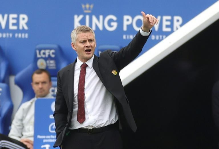 Ole Gunnar Solskjaer's Manchester United finished third in the Premier League (AFP Photo/CARL RECINE)