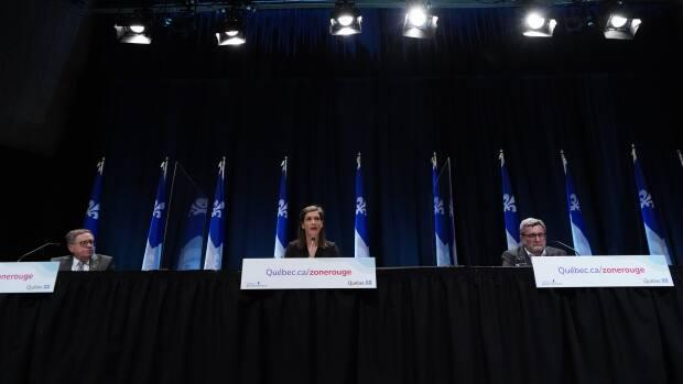 As Quebec City slides into a deeper shade of red, civic leaders plead for everyone to heed the rules