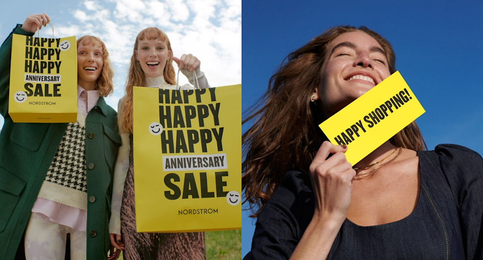 The Nordstrom Anniversary Sale is now open to all shoppers in Canada. Images courtesy of Nordstrom.