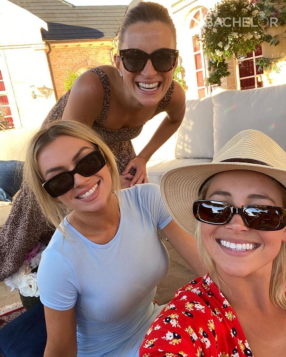 Holly also shared she's still very good friends with Carlie, Tahnee and Lily (not pictured). Photo: Ten