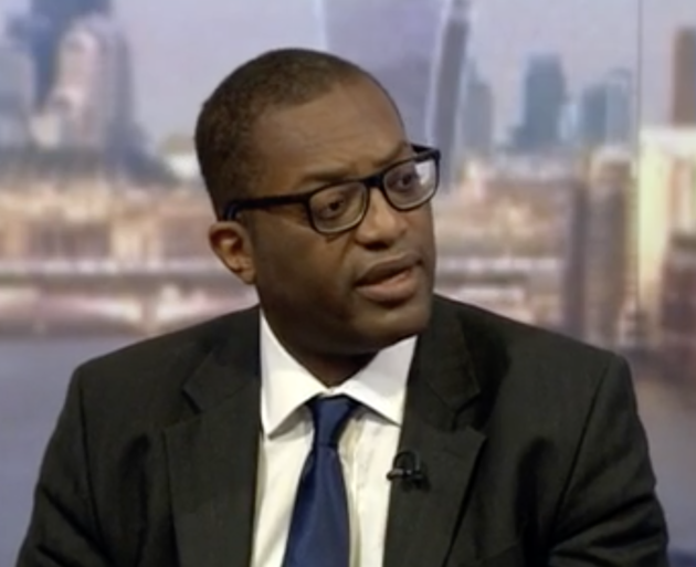 Brexit minister Kwasi Kwarteng on the BBC Andrew Marr Show on Sunday