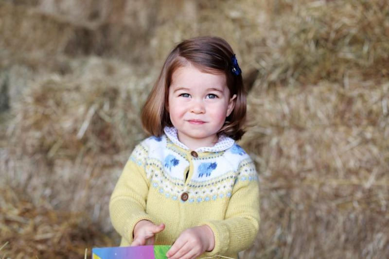 Princess Charlotte has just made history in the royal family. Photo: Getty Images
