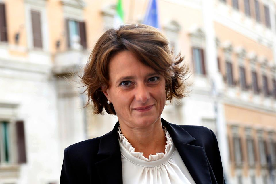 Minister of equal opportunities Elena Bonetti arrives at Capranichetta Hotel for the presentation of the Granfparent's day. Rome (Italy), September 24th 2020 (Photo by Samantha Zucchi/Insidefoto/Mondadori Portfolio via Getty Images) (Photo: Mondadori Portfolio via Getty Images)