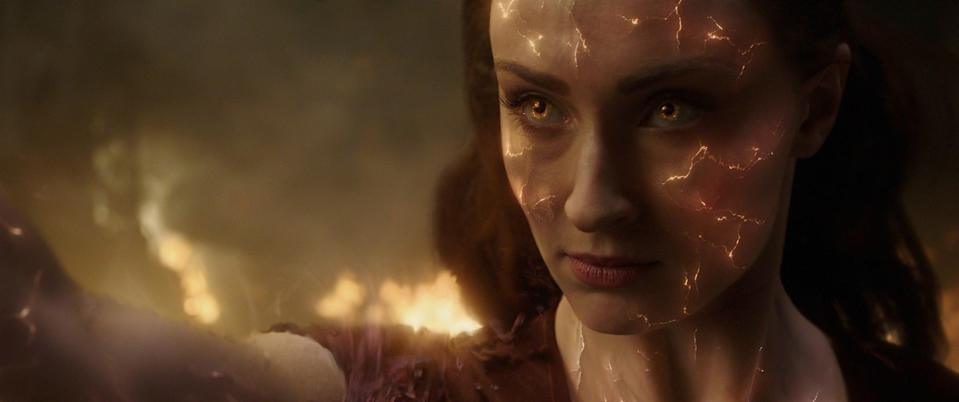 Not even Sophie Turner, whose character Jean Grey gets imbued with great power that tears her apart, could save