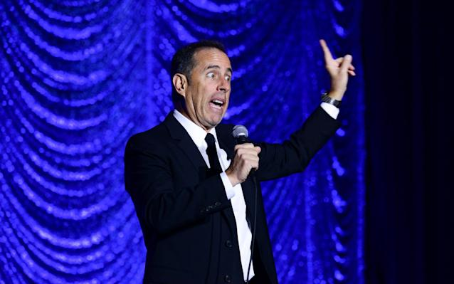 Jerry Seinfeld made his first UK appearances in eight years - Getty Images