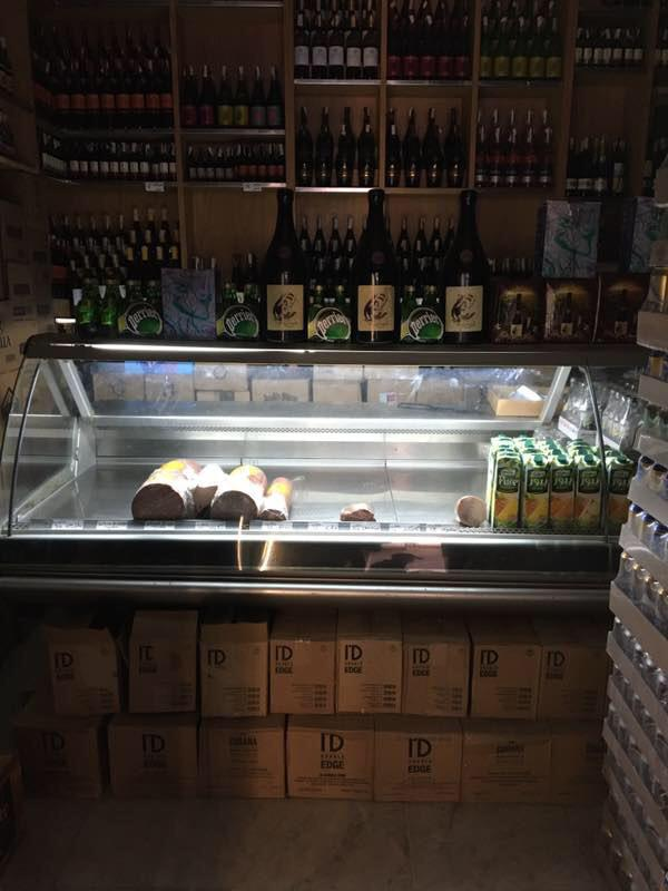 Uno Ambrogio, a liquor store in Cairo's upper-middle-class Zamalek neighborhood, also has a deli counter in the back with ham, mortadella, and other cuts-almost as a casual aside.<em> </em>