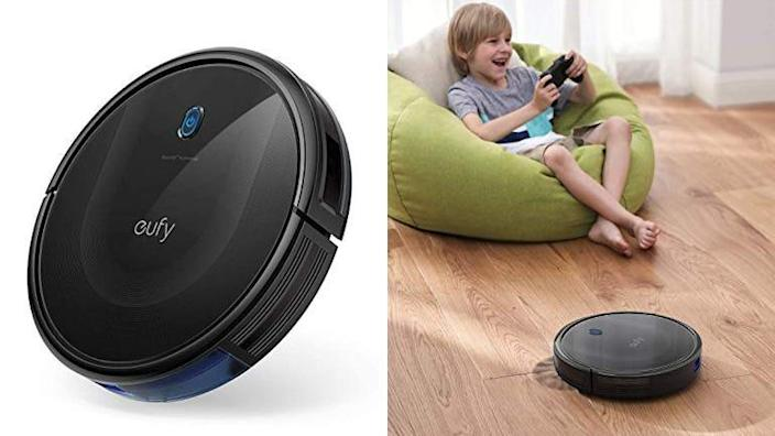 The Eufy 11S Max is a more powerful version of our favorite affordable robot vacuum.