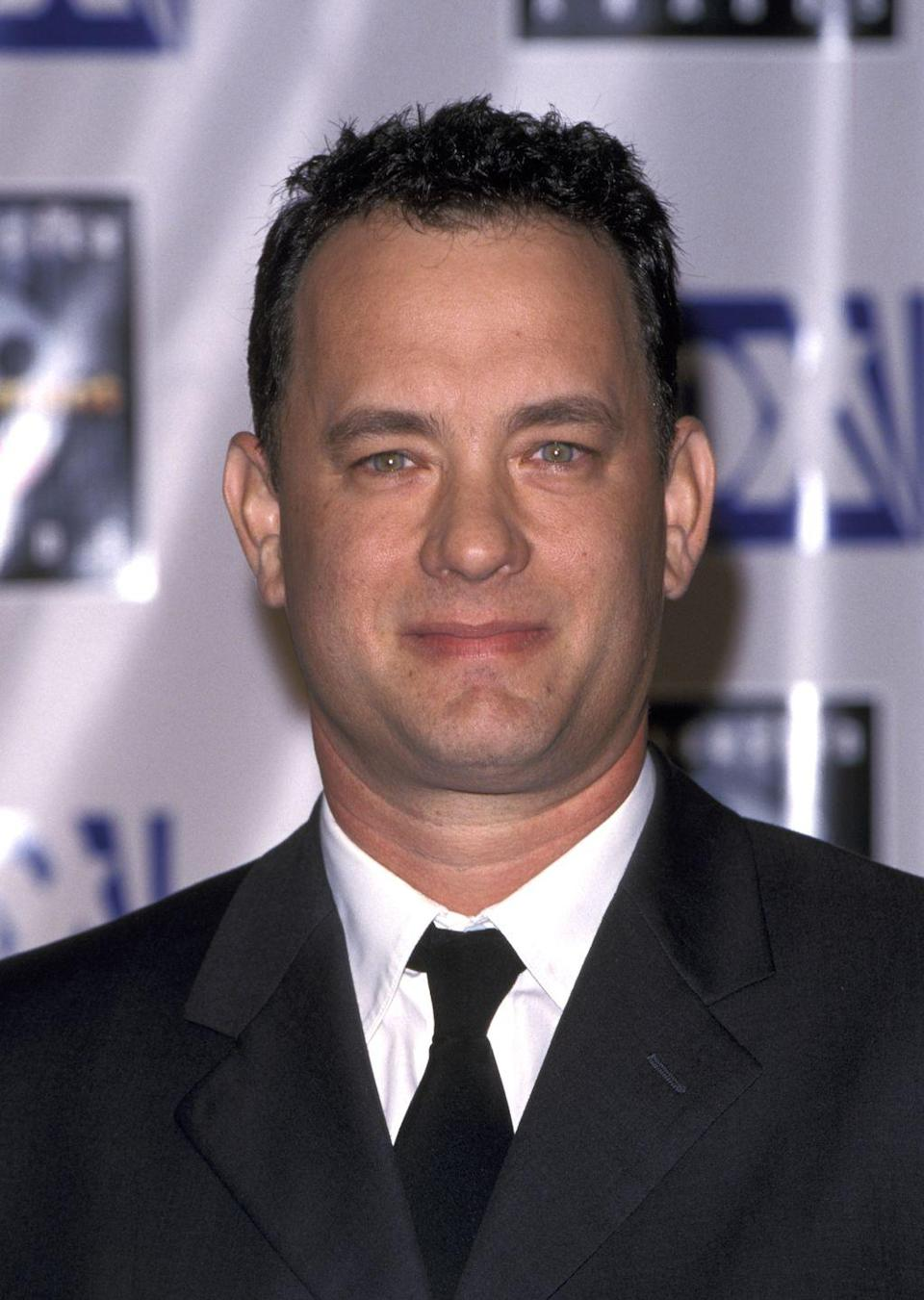 <p>A clean cut Tom Hanks is one that America is used to and loves. So if it ain't broke, don't fix it, right?</p>