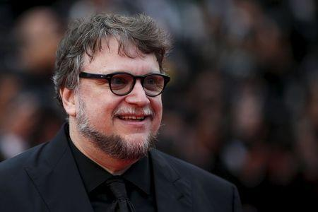 File photo of jury member film director del Toro posing on the red carpet at the 68th Cannes Film Festival in Cannes