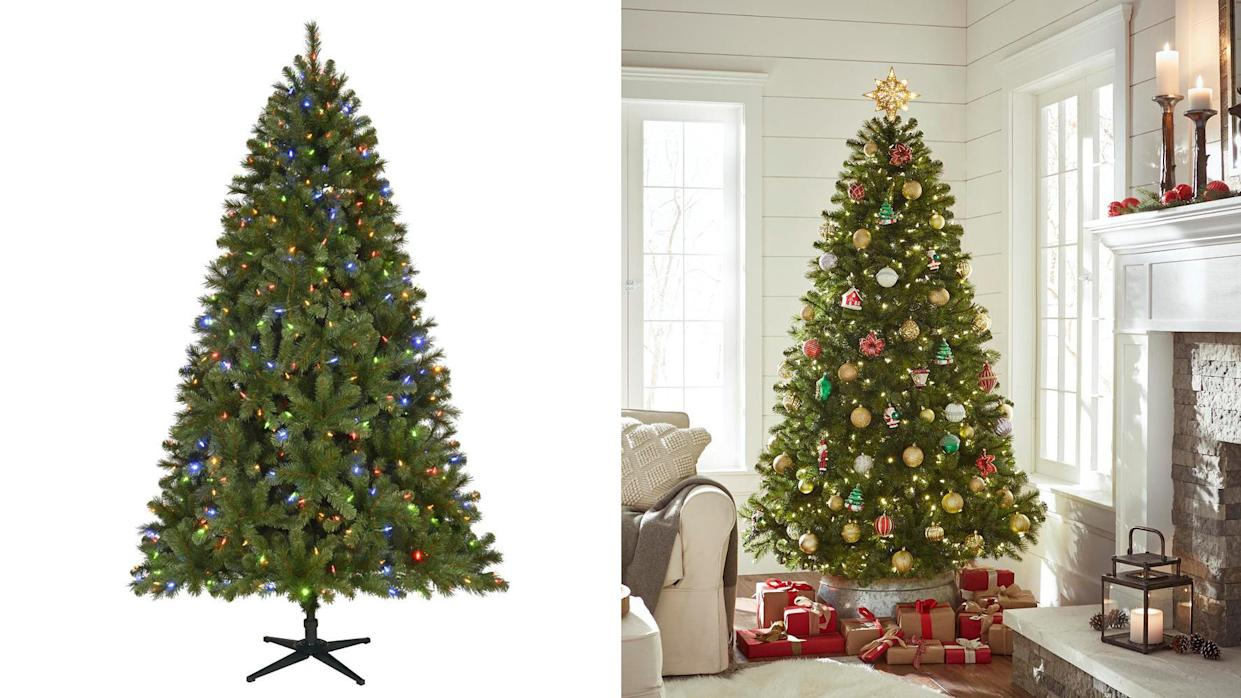 This is one of the most popular artificial trees at Home Depot.