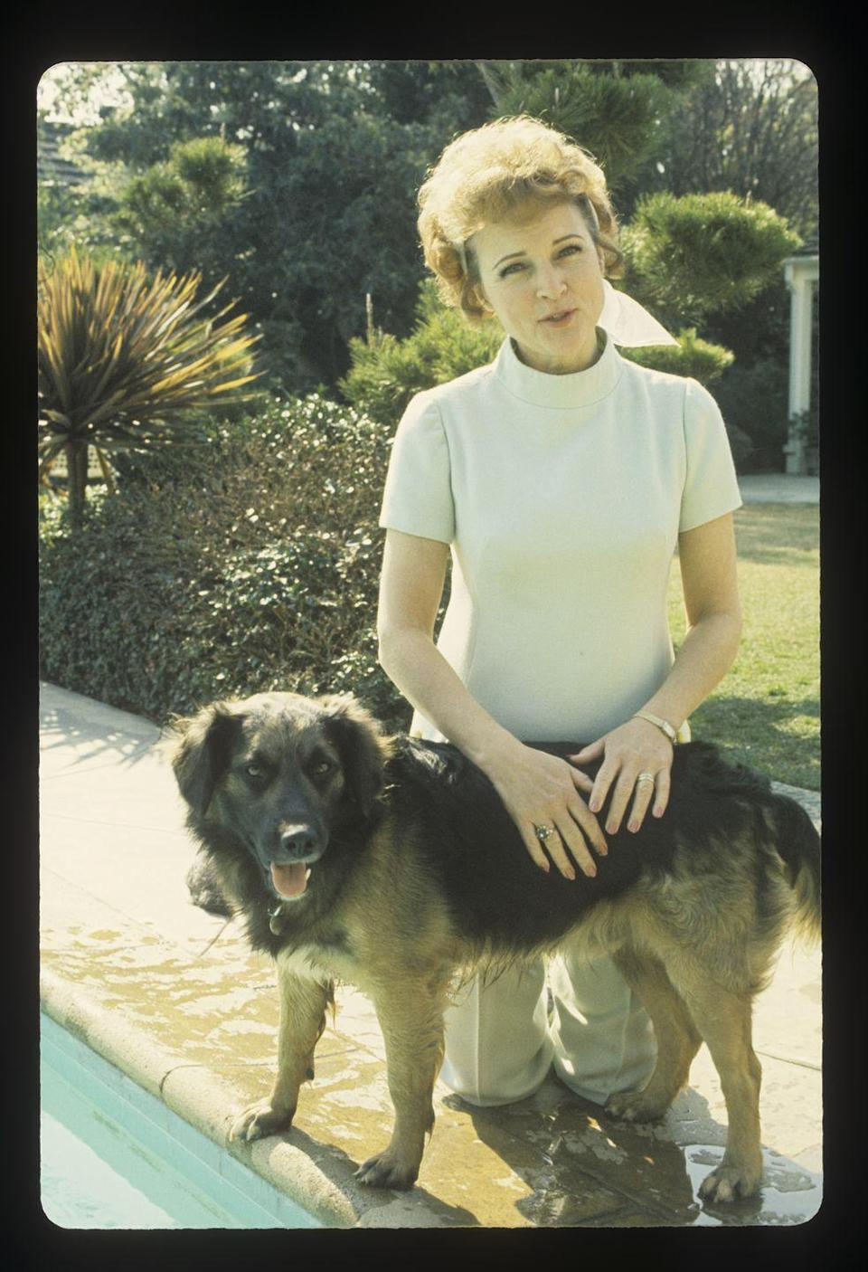 """<p>In 1971, Betty starred in a television series called <em>The Pet Set</em>. The series was produced by her husband, Allen Ludden, and featured the actress <a href=""""https://www.insider.com/betty-white-facts-career-2019-1#betty-hosted-a-show-called-the-pet-set-in-1971-featuring-celebrities-and-their-pets-12"""" rel=""""nofollow noopener"""" target=""""_blank"""" data-ylk=""""slk:interviewing various celebrities and their pets"""" class=""""link rapid-noclick-resp"""">interviewing various celebrities and their pets</a>. </p>"""