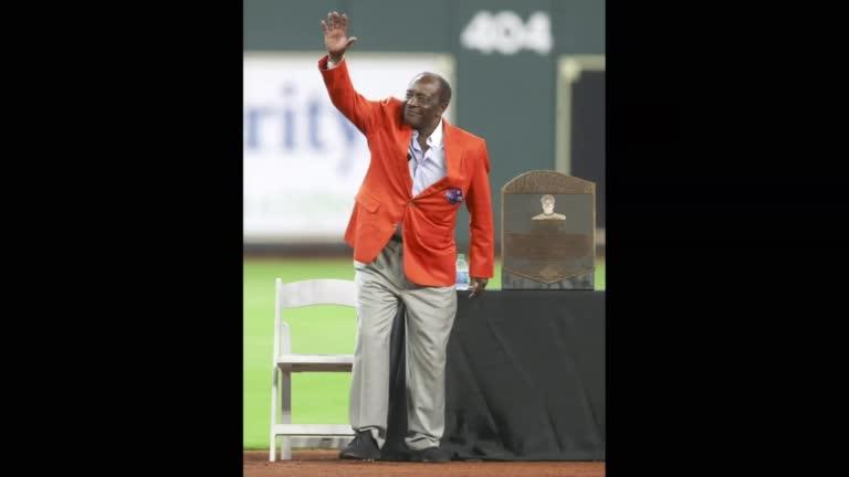 """<p>SHOWS: </p>               <p>CINCINNATI, OHIO, UNITED STATES (OCTOBER 10, 2010)(REUTERS FILE PHOTO-JOHN SOMMERS)</p>               <p>1. CINCINNATI REDS GREAT JOE MORGAN THROWS OUT THE CEREMONIAL FIRST PITCH BEFORE THE REDS TAKE ON THE PHILADELPHIA PHILLIES IN GAME 3 OF THE MLB NATIONAL LEAGUE DIVISION SERIES BASEBALL PLAYOFFS.</p>               <p>HOUSTON, TEXAS (AUGUST 3, 2009)(USA TODAY STILL PHOTO-MANDATORY CREDIT THOMAS B. SHEA)</p>               <p>2. JOE MORGAN AT HOUSTON ASTROS HALL OF FAME INDUCTION CEREMONY</p>               <p>COOPERSTOWN, NEW YORK, UNITED STATES (JULY 27, 2017)(USA TODAY STILL PHOTO-MANDATORY CREDIT-GREGORY J. FISHER)</p>               <p>3. JOE MORGAN ARRIVING AT HALL OF FAME CEREMONY</p>               <p>4. JOE MORGAN PRESENTING AWARD AT HALL OF FAME CEREMONY</p>               <p>STORY: Hall of Famer and twice World Series champion Joe Morgan, considered one of baseball's greatest second basemen, died on Sunday (October 11) at the age of 77 after battling a nerve condition, his former team, the Cincinnati Reds, announced on Monday.</p>               <p>    Morgan played for five different Major League teams and won the World Series with the Reds in 1975 and 1976. He also won the National League Most Valuable Player award with the team known as the """"Big Red Machine"""" in both those seasons.</p>               <p>    After a 22-year career, in which he hit 268 home runs, recorded 1,133 runs batted in and stole 689 bases, Morgan embarked on a career in broadcasting.</p>               <p>    """"Major League Baseball is deeply saddened by the death of Joe Morgan, one of the best five-tool players our game has ever known and a symbol of all-around excellence,"""" commissioner of baseball Robert Manfred Jr said in a statement.</p>               <p>    """"Joe was a close friend and an adviser to me, and I welcomed his perspective on numerous issues in recent years. He was a true gentleman who cared about our game and the values for which it stands,"""" """