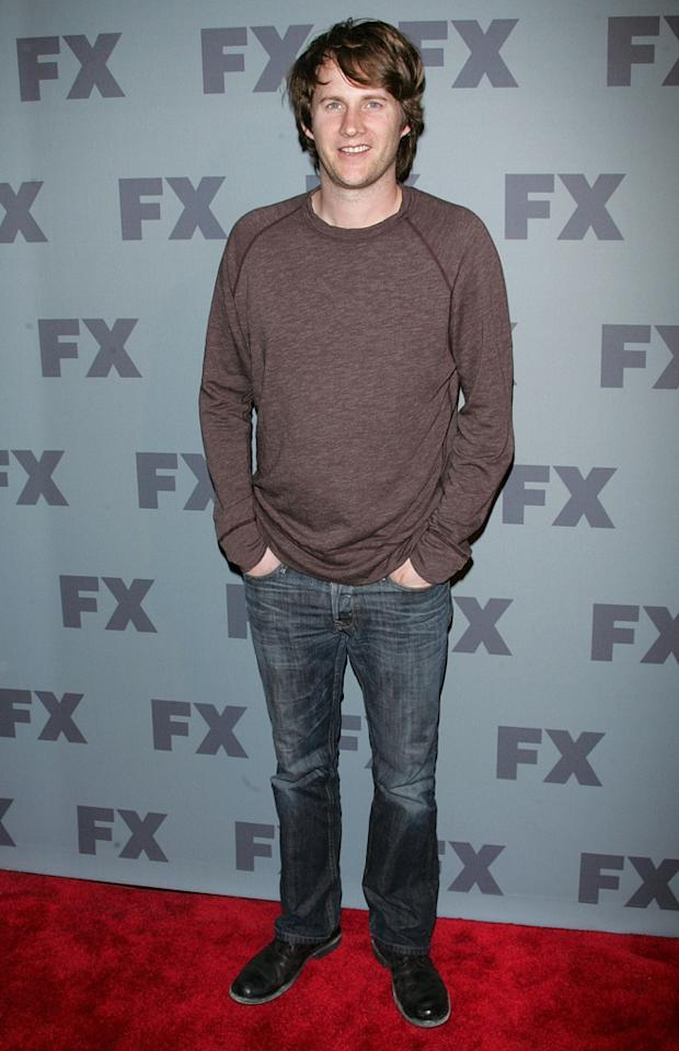 "Derek Richardson (""<a href=""http://tv.yahoo.com/anger-management/show/48408"">Anger Management</a>"") attends FX's 2012 Upfronts at Lucky Strike on March 29, 2012 in New York City."