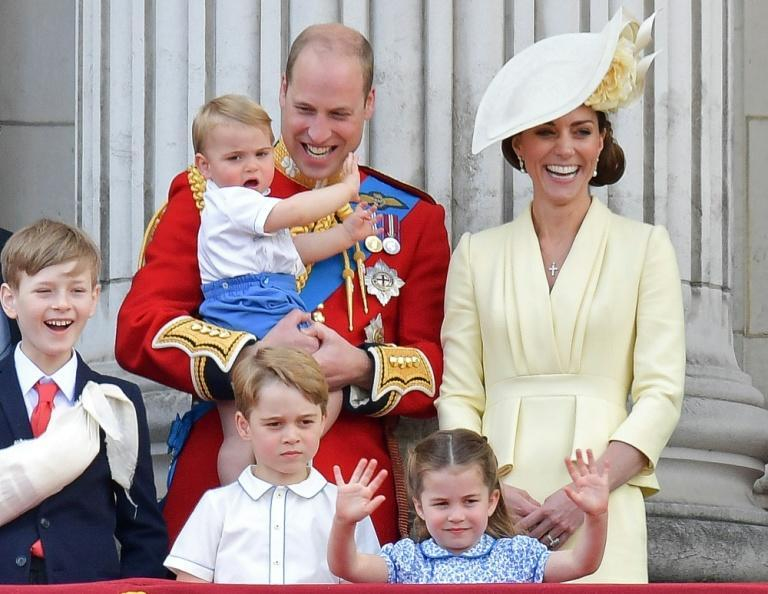 William and Kate's family represents several generations destined to head the British monarchy for years to come