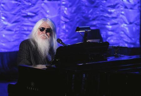 Inductee Leon Russell performs during the Songwriters Hall of Fame awards in New York June 16, 2011.  REUTERS/Lucas Jackson