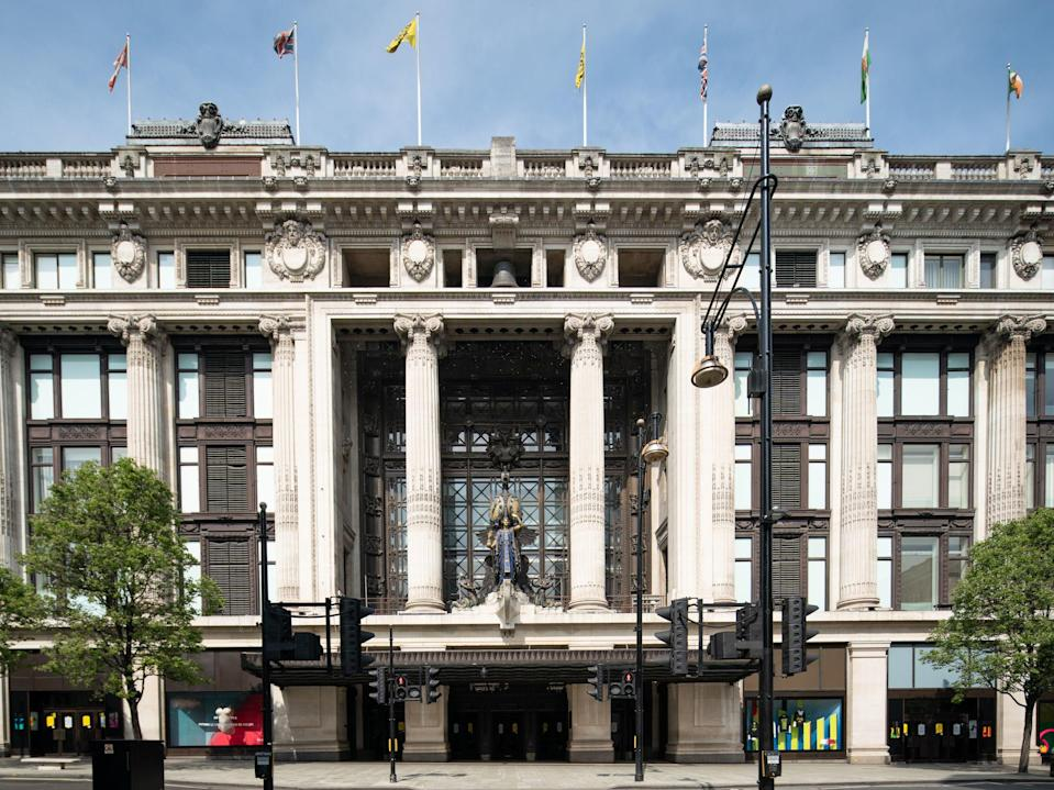 <p>Police are appealing for witnesses to the fight at Selfridges on Oxford Street in central London.</p> (PA)