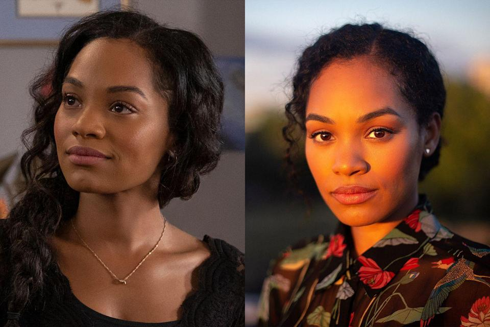<p>Up-and-comer (and veteran of Netflix's <em>A Christmas Prince</em> movies) Tahirah Sharif plays Rebecca Jessel, a former nanny to Miles and Flora.  </p>