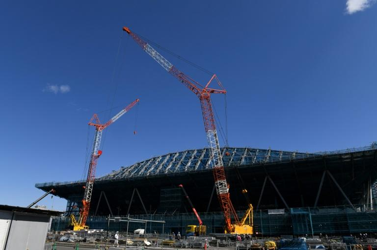 Construction is in full flow for the Tokyo 2020 Olympics