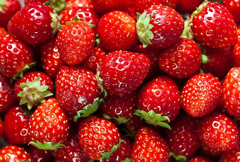 A file pic of strawberries. Police said a nail has been found in strawberries purchased from Gawler in Adelaide's north.