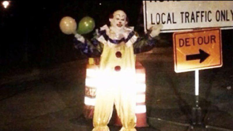 In the past month, US police have received multiple reports from people claiming clowns with white-painted faces were acting strangely in the area. Photo: Supplied