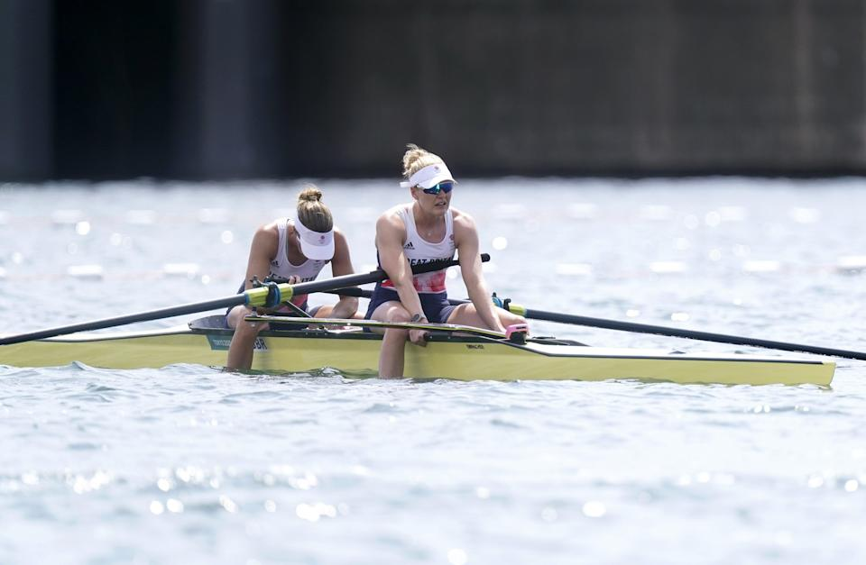 Comeback rower Helen Glover said she was proud to finish fourth with Polly Swann in the Olympic women's pairs final and eager to return home to see her children (Danny Lawson/PA) (PA Wire)